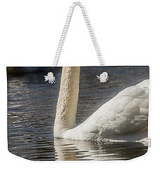 Weekender Tote Bag featuring the photograph Swan by David Bearden