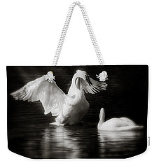 Swan Display Weekender Tote Bag