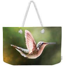Swan Dive Hummingbird Weekender Tote Bag