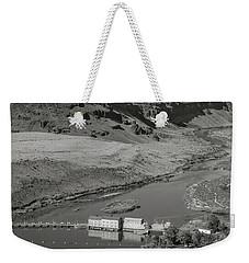 Swan Falls Dam Weekender Tote Bag
