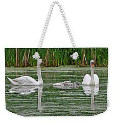 Swan Family Weekender Tote Bag