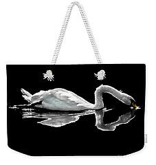 Swan Lake Nature Photo 2121a Weekender Tote Bag