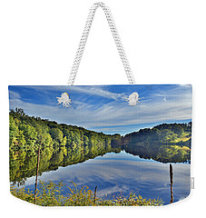 Swan Lake Times Two Weekender Tote Bag