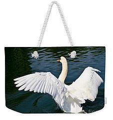 Swan Moment Weekender Tote Bag
