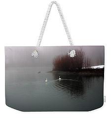 Swan Pond Weekender Tote Bag