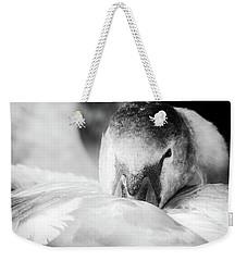 Swan Portrait Weekender Tote Bag