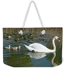 Swan Scenic Weekender Tote Bag