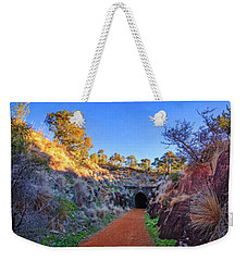 Weekender Tote Bag featuring the photograph Swan View Railway Tunnel by Dave Catley