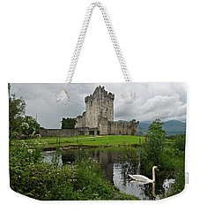 Swan's Lake Weekender Tote Bag