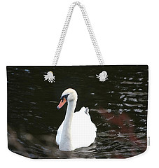 Swans-a-swimming Weekender Tote Bag