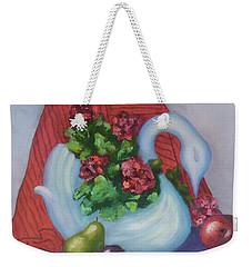 Swanza's Swan Weekender Tote Bag