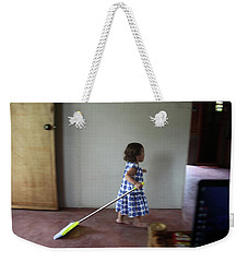 Weekender Tote Bag featuring the photograph Sweep Macokes by Jez C Self