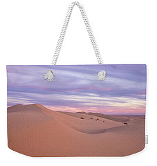 Weekender Tote Bag featuring the photograph Sweeping Dunes At Sunset by Patricia Davidson