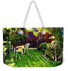 Sweet Afternoon Weekender Tote Bag