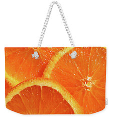 Sweet And Juicy Weekender Tote Bag by Mariarosa Rockefeller