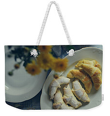 Sweet And Salty Weekender Tote Bag by Marija Djedovic