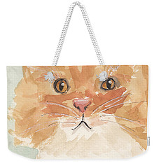 Sweet Attitude Weekender Tote Bag by Terry Taylor