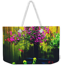 Weekender Tote Bag featuring the photograph Sweet Boronia by Blair Stuart