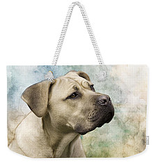Sweet Cane Corso, Italian Mastiff Dog Portrait Weekender Tote Bag