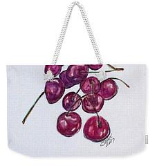 Sweet Cherry Weekender Tote Bag