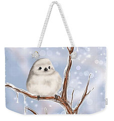 Weekender Tote Bag featuring the painting Sweet Cold by Veronica Minozzi