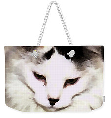 Sweet Face Cat Weekender Tote Bag