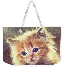 Sweet Ginger Fuzz Weekender Tote Bag