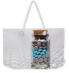 Sweet Happy Pills Weekender Tote Bag by Afrodita Ellerman