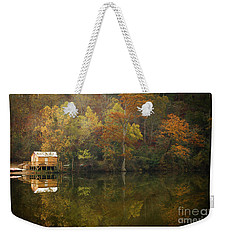 Weekender Tote Bag featuring the photograph Sweet Home by Iris Greenwell