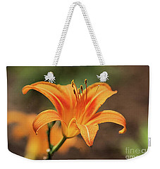 Sweet Lilly In Orange Weekender Tote Bag