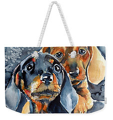 Sweet Little Dogs Weekender Tote Bag