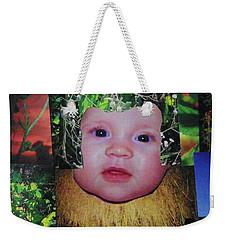 Sweet Mary Collage Weekender Tote Bag