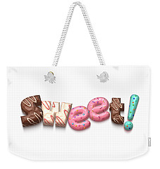 Weekender Tote Bag featuring the digital art Sweet  by Mary Machare