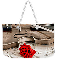 Sweet Music Weekender Tote Bag by Don Schwartz