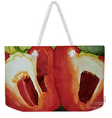 Sweet Pepper Weekender Tote Bag