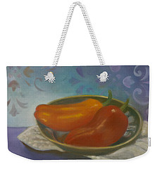 Sweet Peppers Weekender Tote Bag