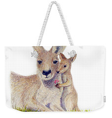 Kind Weekender Tote Bag by Phyllis Howard
