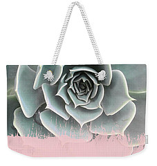 Sweet Pink Paint On Succulent Weekender Tote Bag