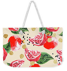 Sweet Pom Weekender Tote Bag by Uma Gokhale