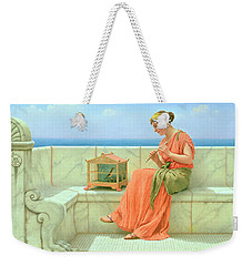 Sweet Sounds Weekender Tote Bag by John William Godward