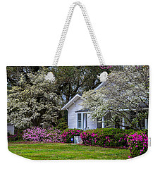 Weekender Tote Bag featuring the photograph Sweet Southern Spring by Linda Brown