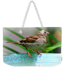 Sweet Sparrow Weekender Tote Bag