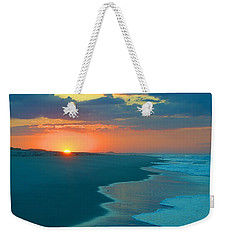 Weekender Tote Bag featuring the photograph Sweet Sunrise by  Newwwman