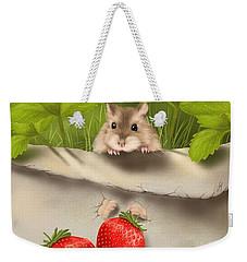 Sweet Surprise Weekender Tote Bag by Veronica Minozzi