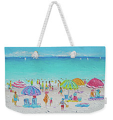Sweet Sweet Summer Weekender Tote Bag by Jan Matson