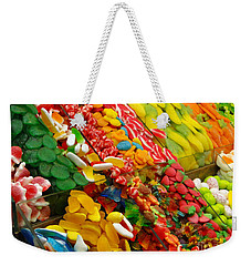 Weekender Tote Bag featuring the photograph Sweet Tooth by Sue Melvin