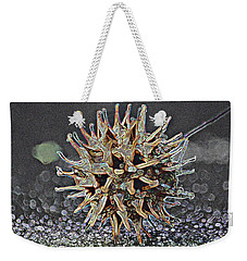 Weekender Tote Bag featuring the photograph Sweetgum Ball by Donna G Smith