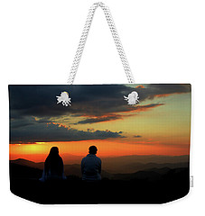 Weekender Tote Bag featuring the photograph Sweetheart Sunset by Jessica Brawley