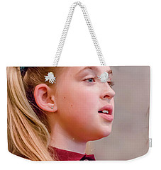 Sweetly Singing Weekender Tote Bag
