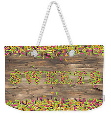Sweets Weekender Tote Bag by La Reve Design